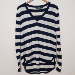 Lauren Ralph Lauren Silk Blend Lightweight Sweater